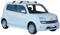 Багажник на крышу для Daihatsu Materia '07-12, до края опоры (Whispbar-Prorack)