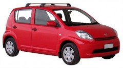 Багажник на крышу для Daihatsu Sirion '05-10, до края опоры (Whispbar-Prorack)