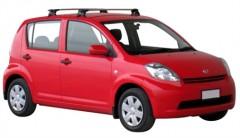 Багажник на крышу для Daihatsu Sirion '05-10, сквозной (Whispbar-Prorack)