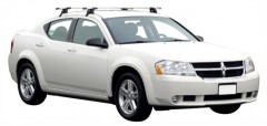 Багажник на крышу для Dodge Avenger '07-13, сквозной (Whispbar-Prorack)