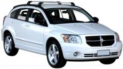Багажник на крышу для Dodge Caliber '07-12, до края опоры (Whispbar-Prorack)