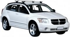 Багажник на крышу для Dodge Caliber '07-12, сквозной (Whispbar-Prorack)