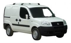 Багажник в штатные места для Fiat Doblo '01-09, до края опоры (Whispbar-Prorack)