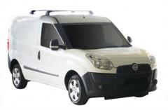 Багажник в штатные места для Fiat Doblo '10-, до края опоры (Whispbar-Prorack)