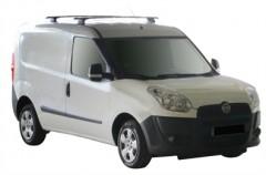 Багажник в штатные места для Fiat Doblo '10-, сквозной (Whispbar-Prorack)