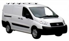 Багажник в штатные места для Fiat Scudo '07-16, 3 поперечины, сквозной (Whispbar-Prorack)
