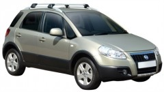Багажник на рейлинги для Fiat Sedici '06-, до края опоры (Whispbar-Prorack)
