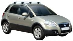 Багажник на рейлинги для Fiat Sedici '06-, сквозной (Whispbar-Prorack)
