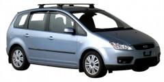 Багажник в штатные места для Ford C-Max '03-10, сквозной (Whispbar-Prorack)