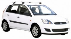 Багажник на крышу для Ford Fiesta '02-09, сквозной (Whispbar-Prorack)
