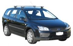 Багажник на крышу для Ford Focus II '04-08 универсал, сквозной (Whispbar-Prorack)