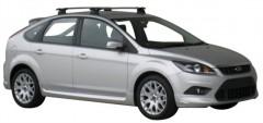 Багажник в штатные места для Ford Focus II '08-11 хэтчбек, сквозной (Whispbar-Prorack)