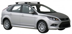 Багажник на крышу для Ford Focus II '08-11 хэтчбек, сквозной (Whispbar-Prorack)