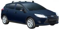Багажник на крышу для Ford Focus '11- хэтчбек, до края опоры (Whispbar-Prorack)