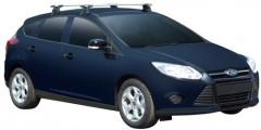 Багажник на крышу для Ford Focus '11- хэтчбек, сквозной (Whispbar-Prorack)