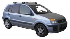 Багажник в штатные места для Ford Fusion '02-12, сквозной (Whispbar-Prorack)