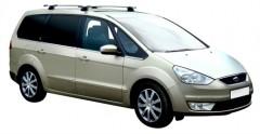 Багажник на штатные направляющие для Ford Galaxy '06-12, сквозной (Whispbar-Prorack)