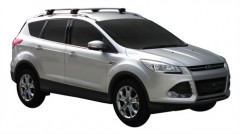 Багажник на рейлинги для Ford Kuga '13-, сквозной (Whispbar-Prorack)