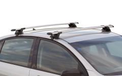 Багажник на крышу для Hyundai Accent '01-05 хэтчбек, сквозной (Whispbar-Prorack)