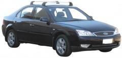 Багажник в штатные места для Ford Mondeo '01-07 седан, до края опоры (Whispbar-Prorack)