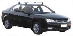 Багажник в штатные места для Ford Mondeo '01-07 седан, сквозной (Whispbar-Prorack)
