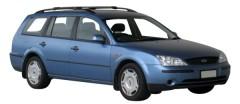 Багажник на рейлинги для Ford Mondeo '01-07 универсал, вровень рейлинга (Whispbar-Prorack)