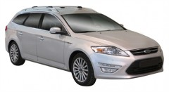 Багажник на рейлинги для Ford Mondeo '07-14 универсал, вровень рейлинга (Whispbar-Prorack)