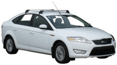 Багажник на крышу для Ford Mondeo '07-14 хэтчбек, до края опоры (Whispbar-Prorack)