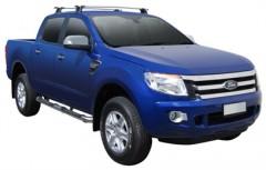Багажник на крышу для Ford Ranger Double Cab '11-, сквозной (Whispbar-Prorack)