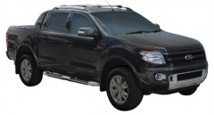 Багажник на рейлинги для Ford Ranger Wildtrak '11-, вровень рейлинга (Whispbar-Prorack)