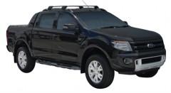 Багажник на рейлинги для Ford Ranger Wildtrak '11-, до края опоры (Whispbar-Prorack)