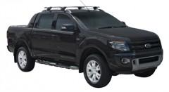 Багажник на рейлинги для Ford Ranger Wildtrak '11-, сквозной (Whispbar-Prorack)