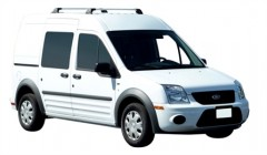 Багажник в штатные места для Ford Transit Connect '02-13, до края опоры (Whispbar-Prorack)