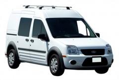 Багажник в штатные места для Ford Transit Connect '02-13, сквозной (Whispbar-Prorack)