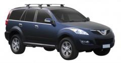 Багажник в штатные места для Great Wall Hover H5 '10-, сквозной (Whispbar-Prorack)