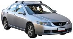 Багажник на крышу для Honda Accord '03-08 седан, до края опоры (Whispbar-Prorack)