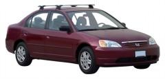 Багажник на крышу для Honda Civic '01-05 седан, сквозной (Whispbar-Prorack)
