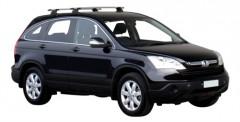 Багажник в штатные места для Honda CR-V '06-12, сквозной (Whispbar-Prorack)