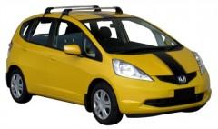 Багажник на крышу для Honda Jazz '09-, до края опоры (Whispbar-Prorack)