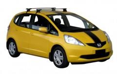 Багажник на крышу для Honda Jazz '09-, сквозной (Whispbar-Prorack)