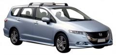 Багажник на крышу для Honda Odyssey '10-, до края опоры (Whispbar-Prorack)