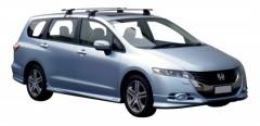 Багажник на крышу для Honda Odyssey '10-, сквозной (Whispbar-Prorack)