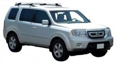 Багажник на рейлинги для Honda Pilot '08-, сквозной (Whispbar-Prorack)