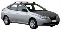 Багажник на крышу для Hyundai Elantra HD '06-10, сквозной (Whispbar-Prorack)