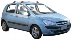 Багажник на крышу для Hyundai Getz '02-11, до края опоры (Whispbar-Prorack)