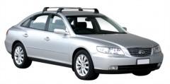 Багажник на крышу для Hyundai Grandeur '05-11, до края опоры (Whispbar-Prorack)
