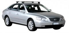 Багажник на крышу для Hyundai Grandeur '05-11, сквозной (Whispbar-Prorack)