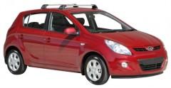 Багажник на крышу для Hyundai i20 '08-14, до края опоры (Whispbar-Prorack)