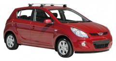 Багажник на крышу для Hyundai i20 '08-14, сквозной (Whispbar-Prorack)
