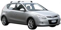 Багажник в штатные места для Hyundai i30 FD '07-12 хэтчбек, до края опоры (Whispbar-Prorack)